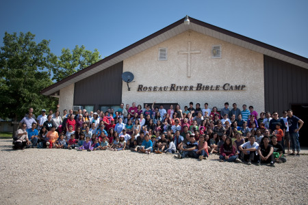 Family Camp 2013 - at Roseau River Bible Camp