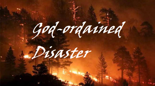 God-ordained Disaster