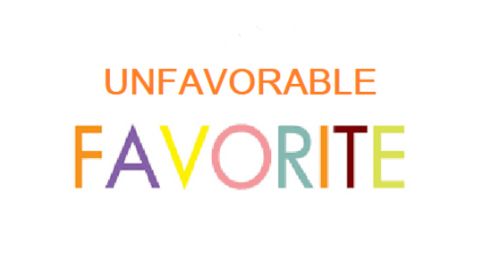 Unfavorable Favorite