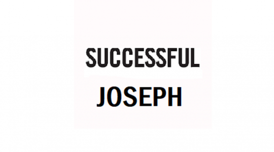 Successful Joseph