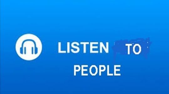 Listen to People