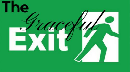 Graceful Exit