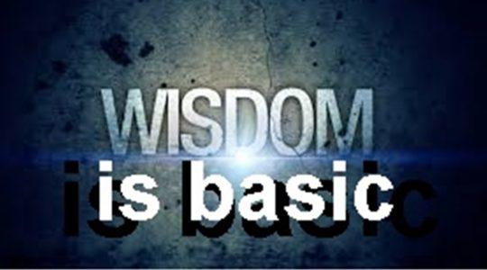 Wisdom is Basic