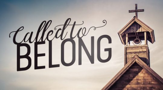 Called to Belong