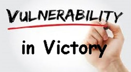 Vulnerability in Victory