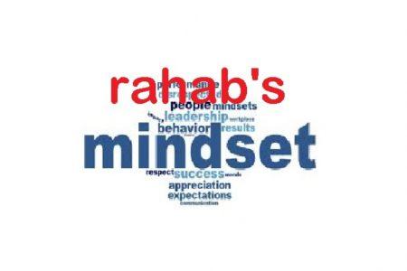 Rahab's Mindset