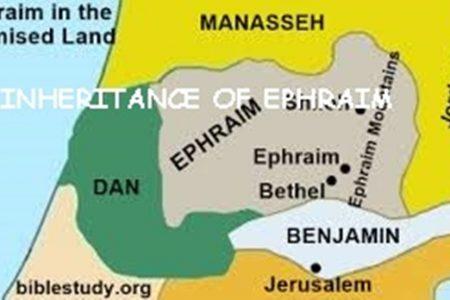 Inheritance of Ephraim
