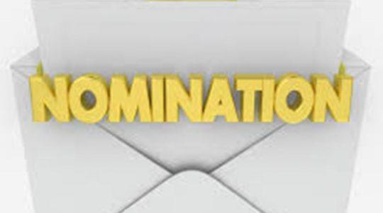 """Nomination"""