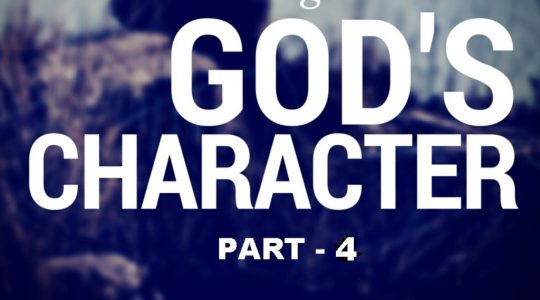 Character of God-Part 4
