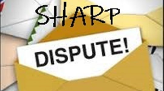 """""""Sharp Dispute"""""""