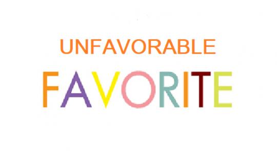 Unfavorable Favorite