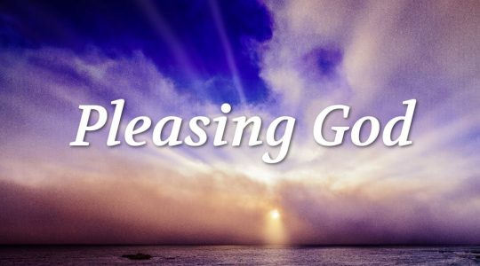 Pleasant to God