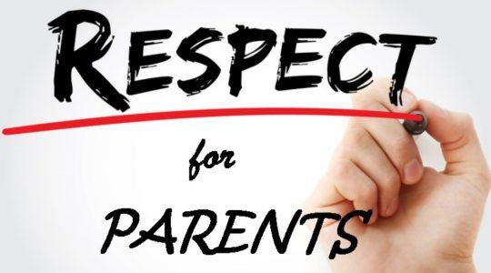 Respect for Parents