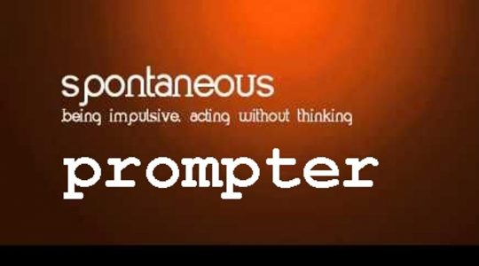 Spontaneous Prompter