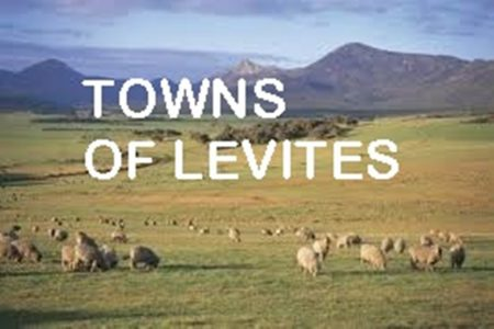 Towns for the Levites