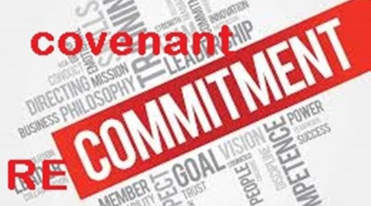 Covenant Recommitment