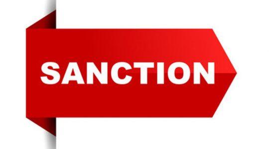 """""""Sanction"""""""