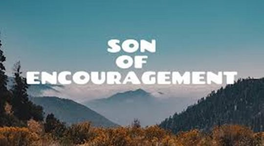 Son of Encouragement