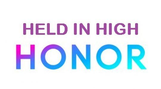 Held in High Honor